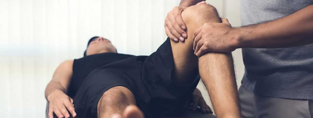 Athletic injury therapy